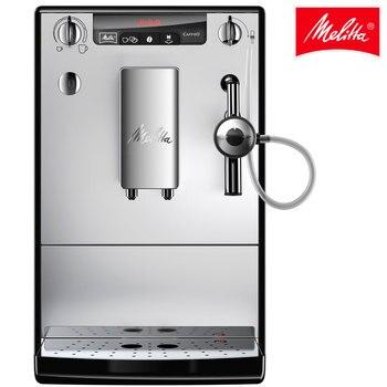 Cafetera automática Melitta Caffeo Solo&Perfect Milk 957-103, molinillo y sistema de leche automático, café capuchino, plata melitta perfect clean 1500729