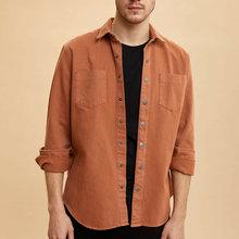 DeFacto Man Long Sleeve Shirt M