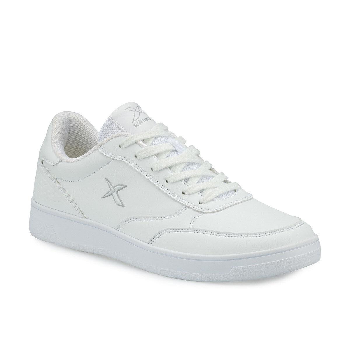 FLO KARL PU M White Men 'S Sneaker Shoes KINETIX