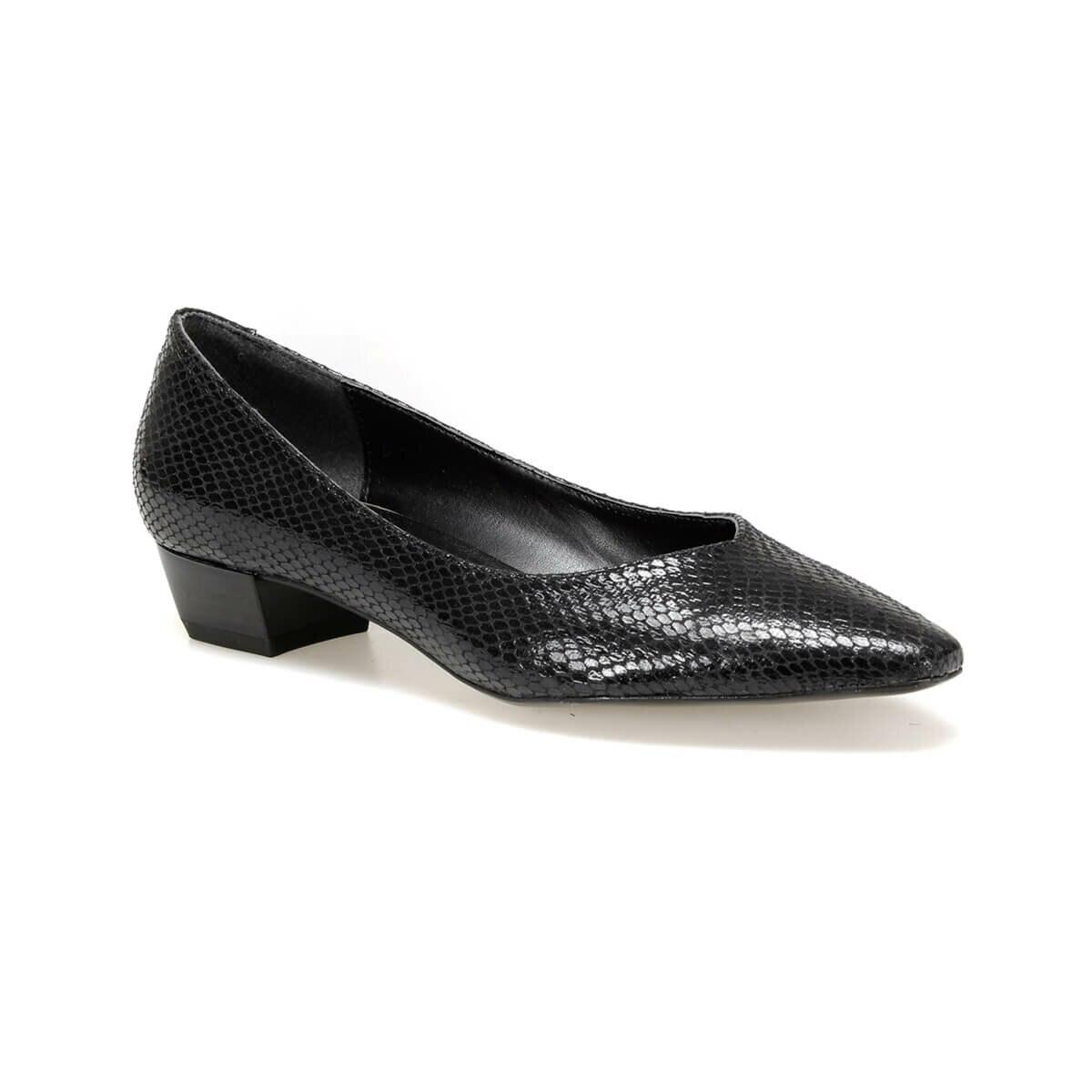 FLO DW19075Y Black Women Gova Shoes Miss F