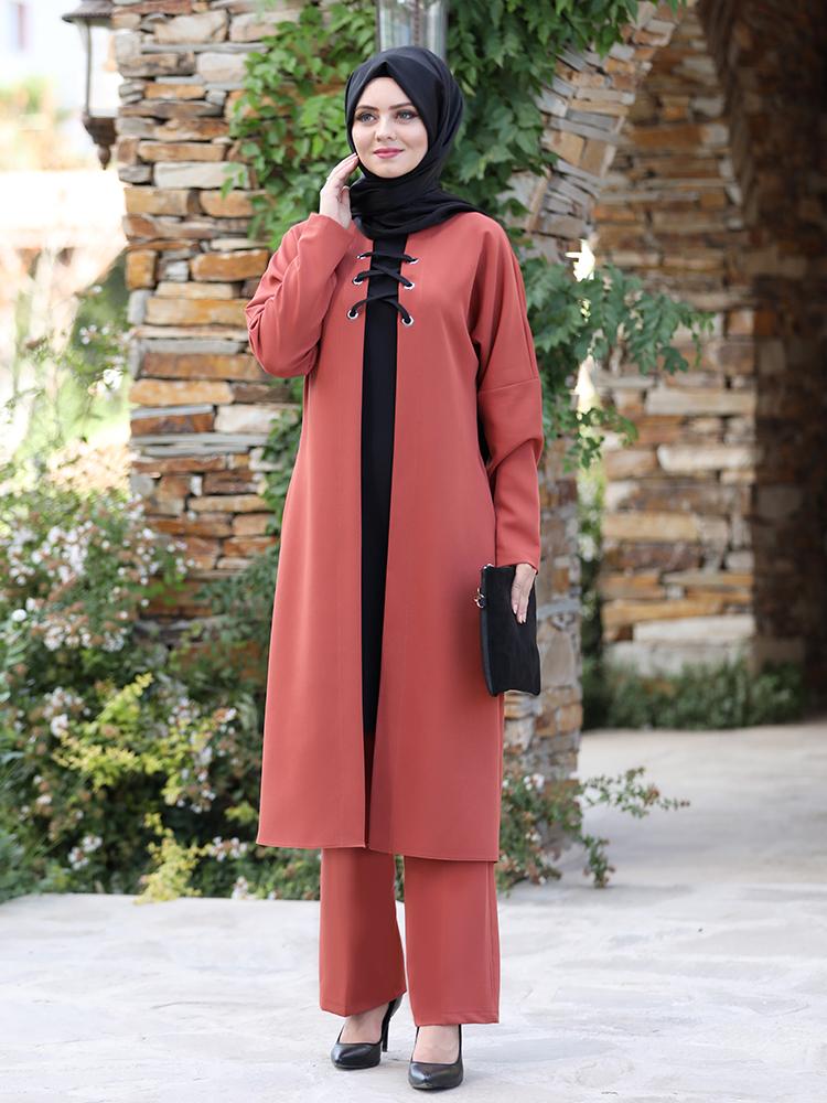 Tunic Trouser team Hijab Islamic clothing Turkey