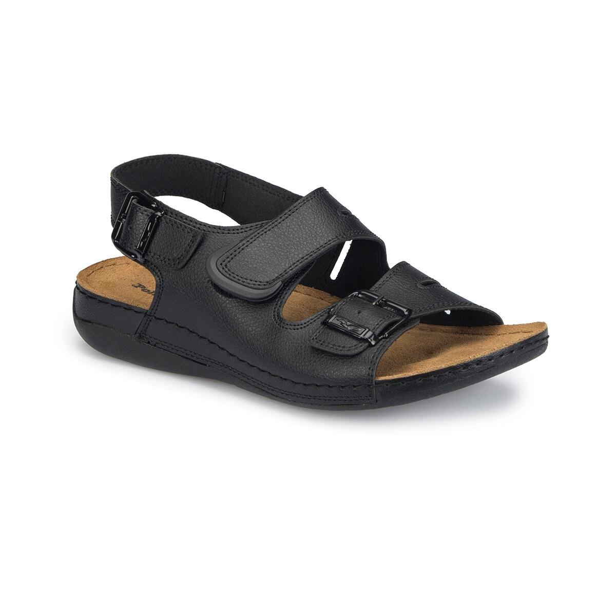 FLO 81.157731.M Black Men 'S Classic Shoes Polaris