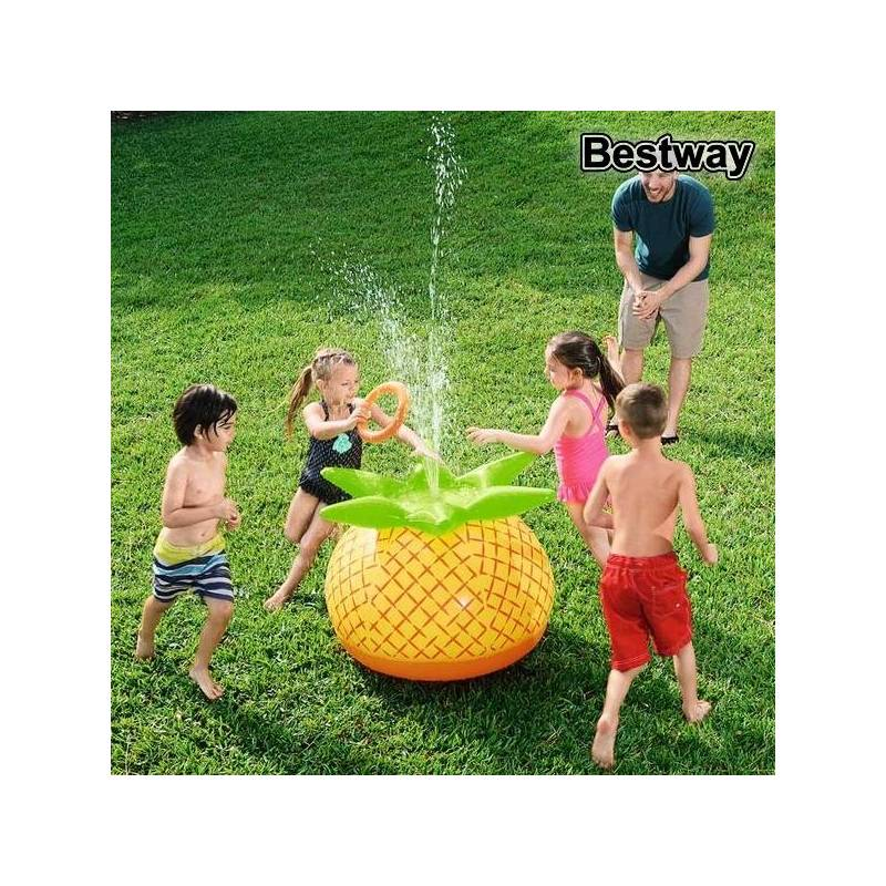 Inflatable Pineapple Bestway 37978 (81x76x64 Cm) Yellow Green