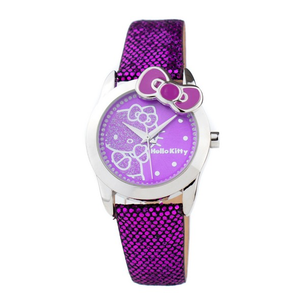 Infant's Watch Hello Kitty HK7155L-10 (32 Mm)