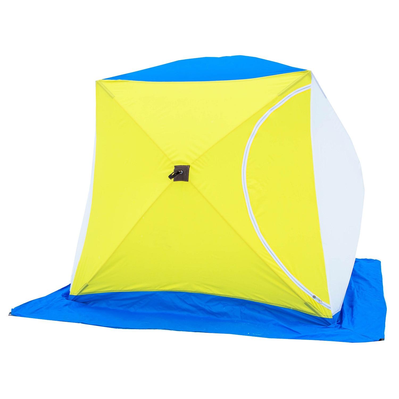 Палатка для зимней рыбалки СТЭК КУБ 2 (однослойная)|Палатки| | АлиЭкспресс