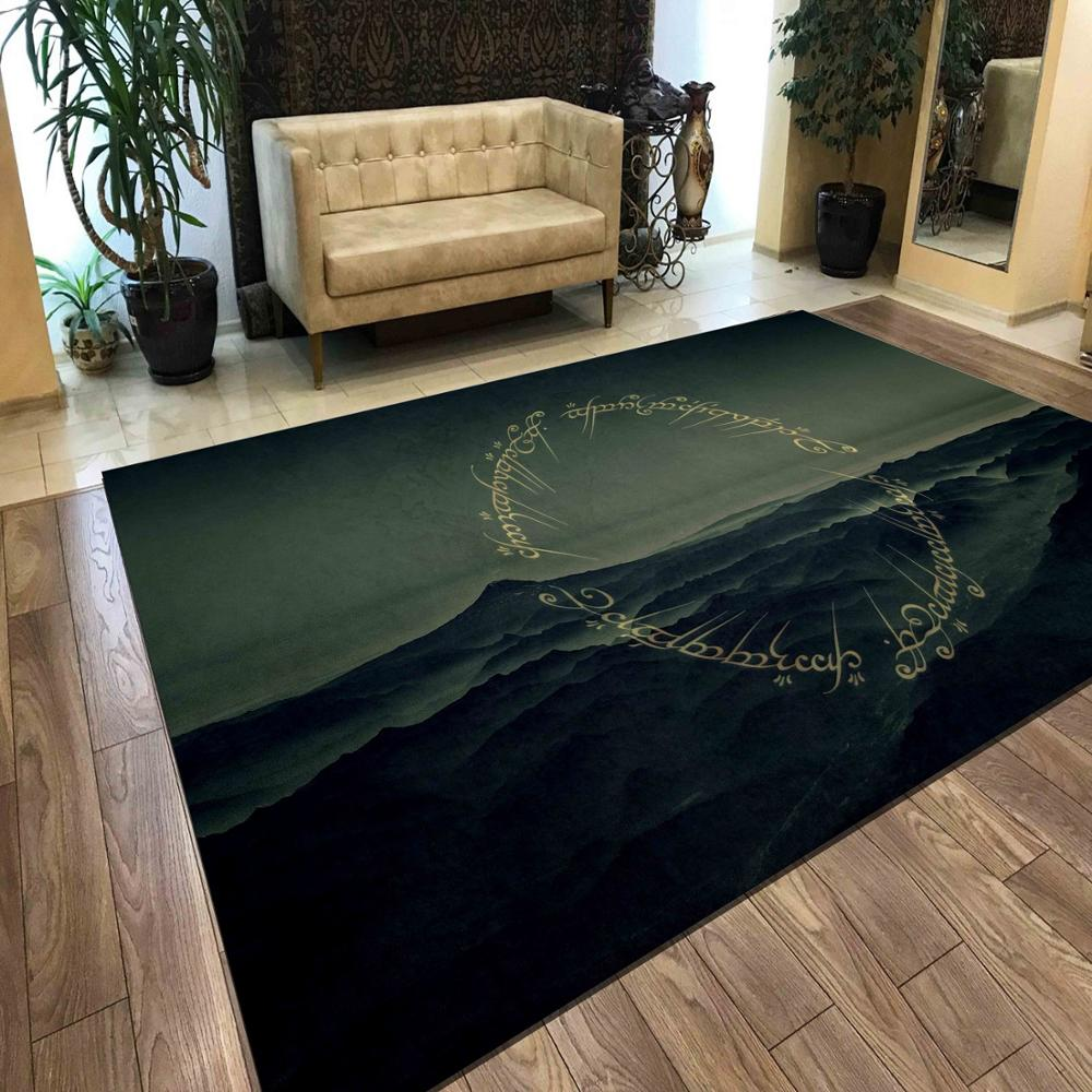 The Lord Of Rings 3 Non Slip Floor Carpet Modern Carpet