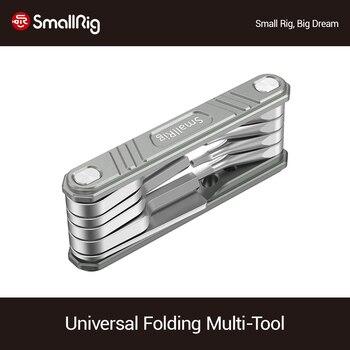 SmallRig-Juego de Herramientas plegables universales, para videógrafos multiherramienta, destornilladores con llaves Allen,...