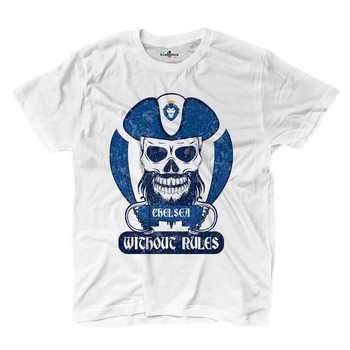 Camiseta de pirata para Fans de fútbol Chelsea Ultras Blues 2 S