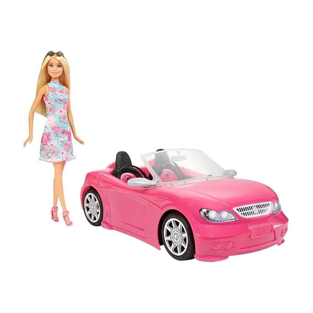 Original Barbie and Air Car,Baby Toys For Girls,Funny Puppy Toys For Birthday...