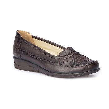 FLO 71 109609 Z brązowe damskie klasyczne buty Polaris 5 Point tanie i dobre opinie Polaris 5 Nokta Trzciny