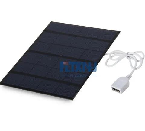 usb painel solar ao ar livre 3 5 w 6 v carregador solar portatil painel
