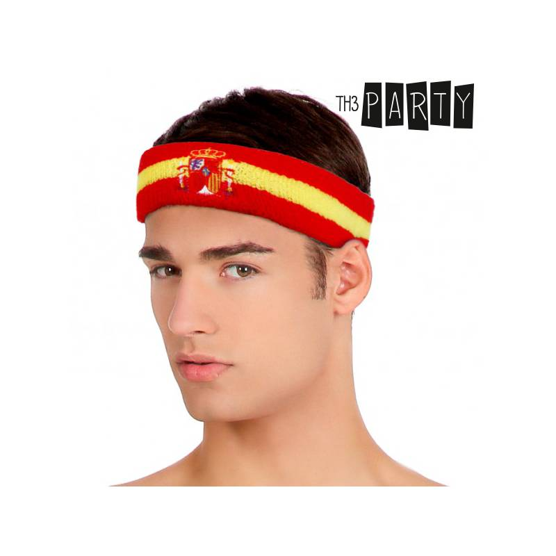 Hair Ribbon Flag Of Spain Th3 Party