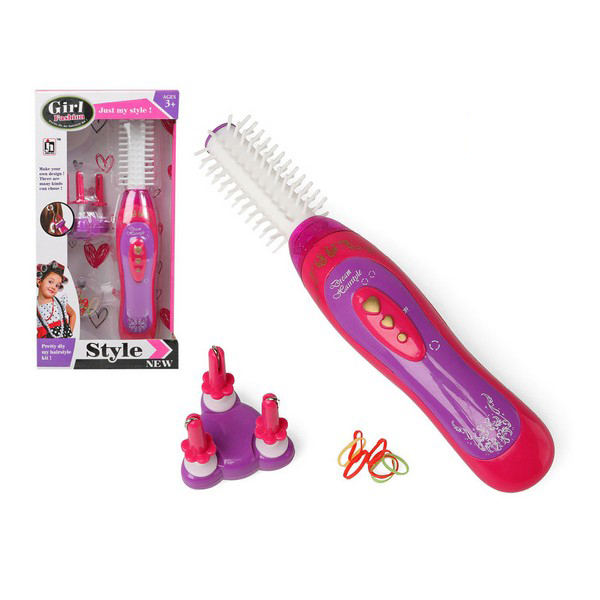 Hair Braiding Kit With Accessories Just My Style! Pink 118261
