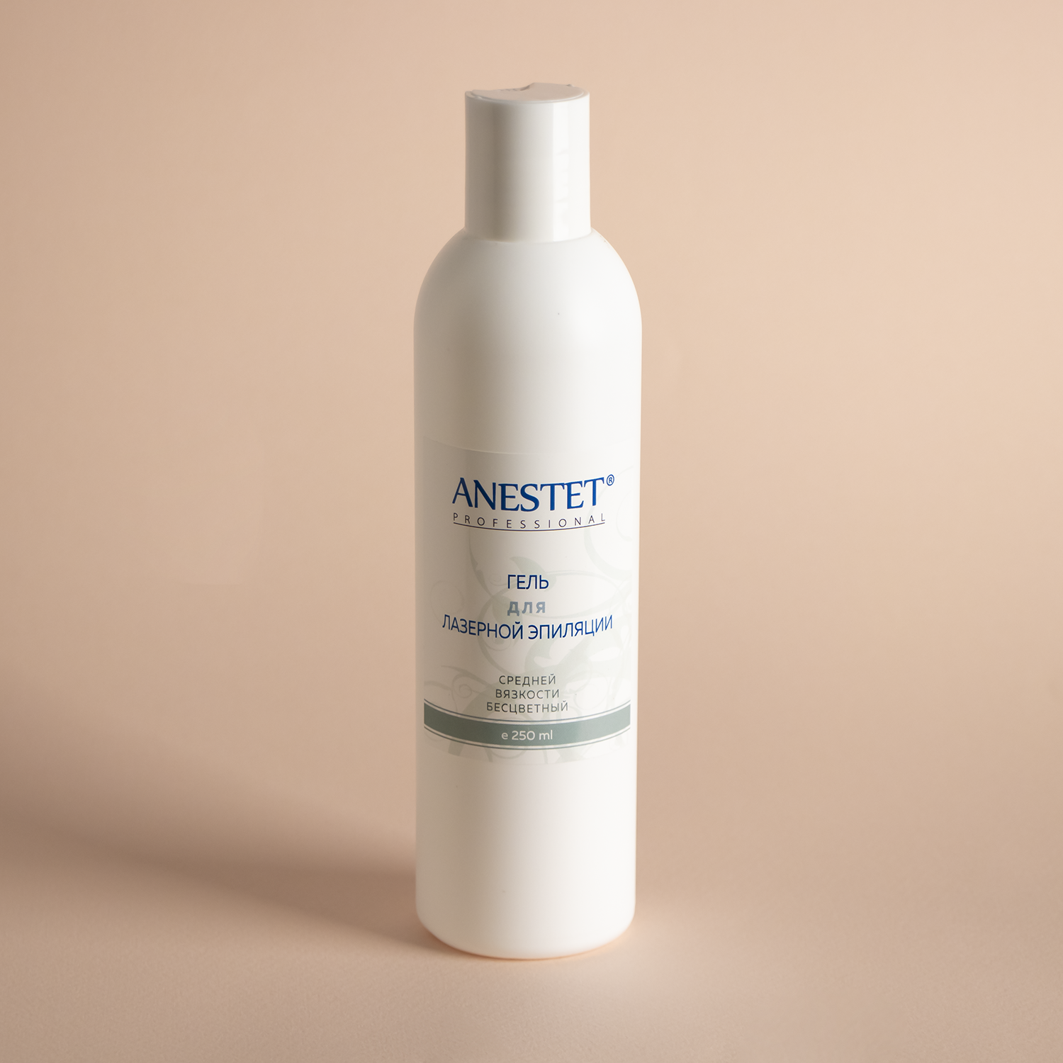 Gel For Laser Hair Removal Medium Viscosity Anestet (анестет) медиагель, 250 Ml.