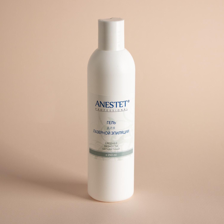 Gel For Laser Hair Removal Medium Viscosity Anestet (анестет) медиагель, 250 Ml.