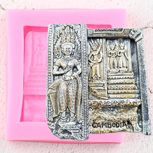 Silicone Molds Clay-Moulds Cake-Decorating-Tools Egyptian-Stone Polymer Topper Cupcake