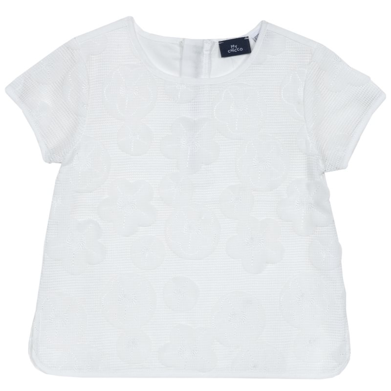 Фото - Blouse Chicco, size 092, color White shoes velcro genuine leather chicco size 200 color white