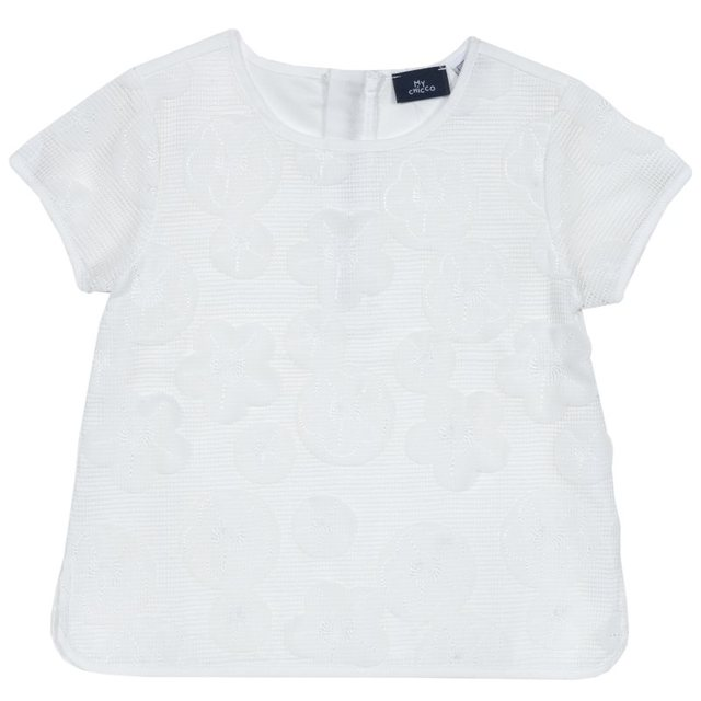 Блузка Chicco, размер 092, цвет белый