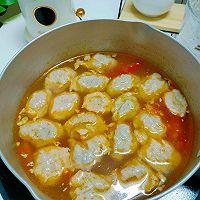 番茄鲜虾丸子汤的做法图解8