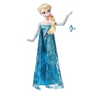 Doll Disney Frozen Elsa with ring