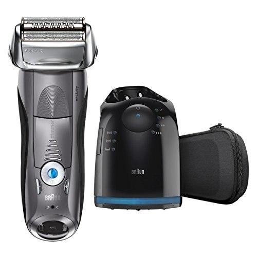 Зубных щеток Braun электрическая бритва для Для мужчин, серия 7 7865cc электробритва с точный триммер, Перезаряжаемые, Влажная и сухая Фольга бритва 1