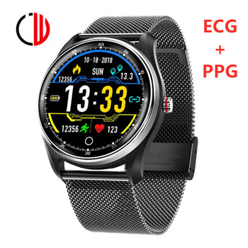 CZJW JW9 ECG+PPG smart watch man fitness tracker heart rate health care waterproof sleep monitor step message remind smartwatch