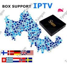 Best android tv box Support European iptv Greek IPTV