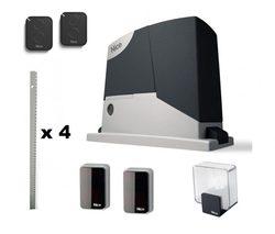 Belle rd400kit3 ensemble автоматики pour portail coulissant avec large ouverture jusqu'à 6 m et peser jusqu'à 400 kg.