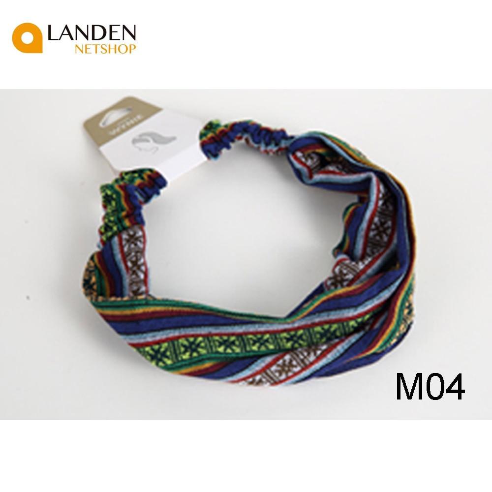 Ribbons Headbands Bands Hair Accessories Fashion Hair Ethnic A Vintage Stripes LANDEN NETSHOP