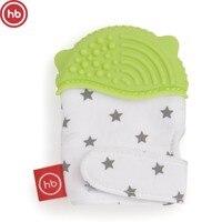 Teether silicone Happy Baby Polka Dot, 20035, Green