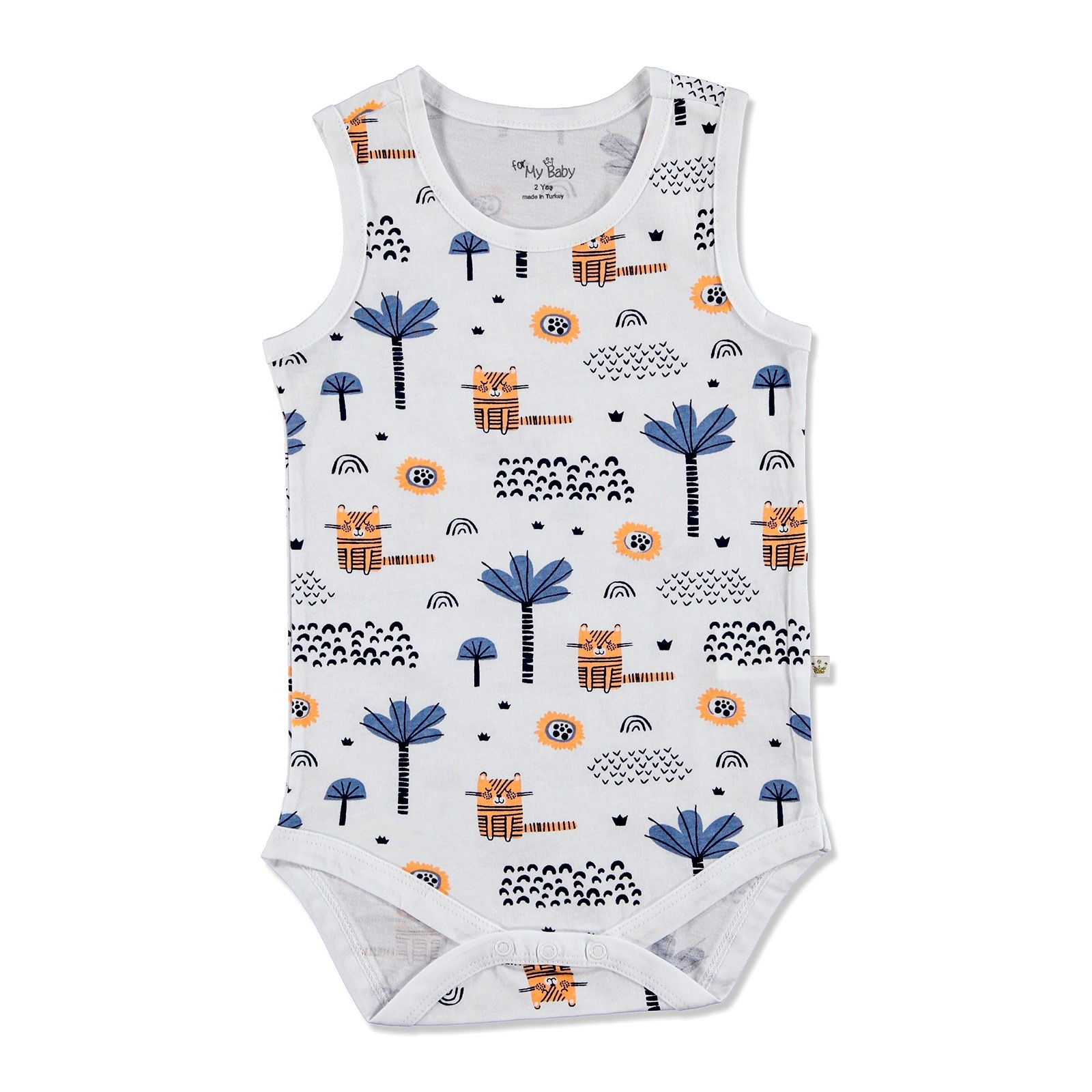Ebebek For My Baby Summer Boy Alf Supreme Bodysuit