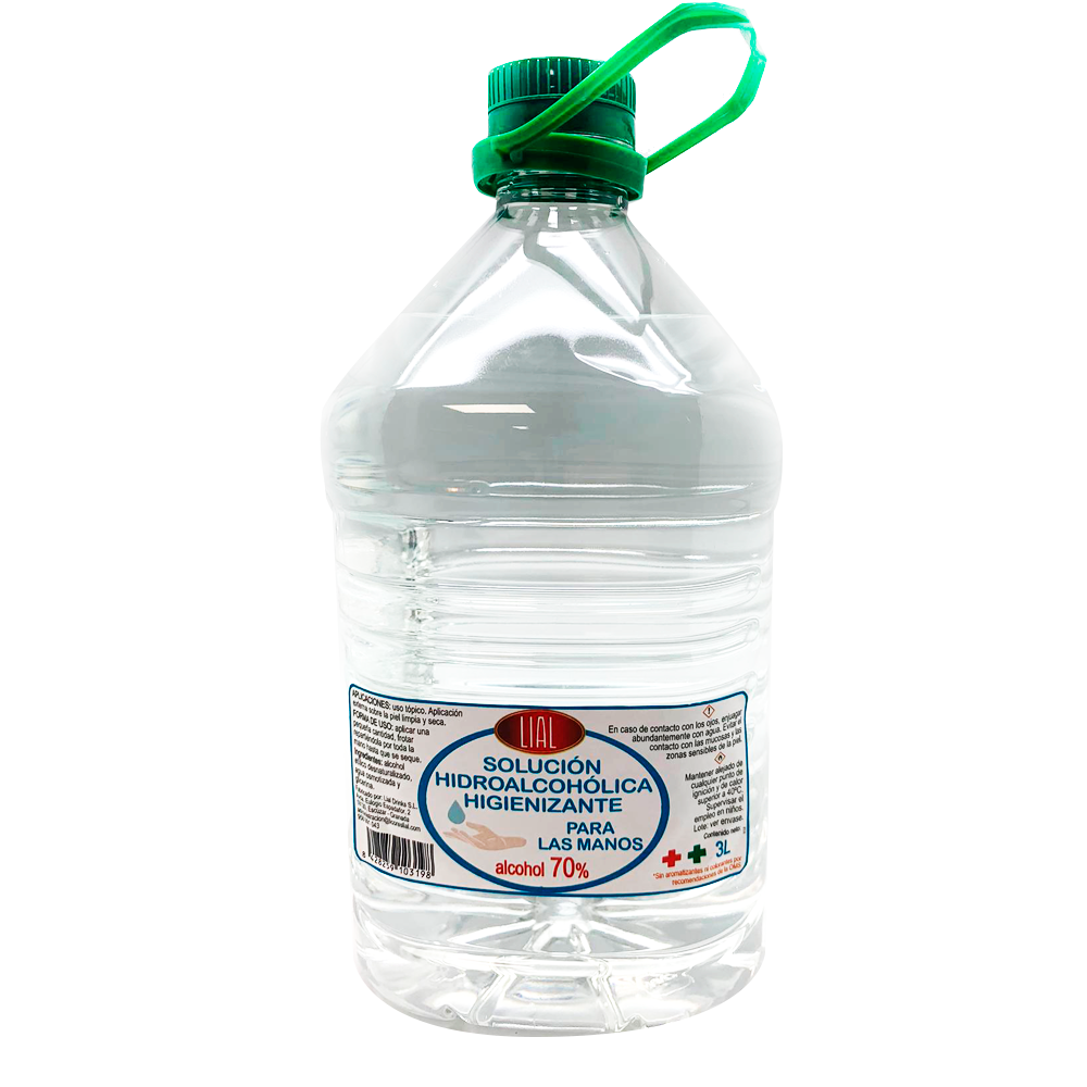 Solution Sanitizer Hydro Boozehound For Hands. 3L