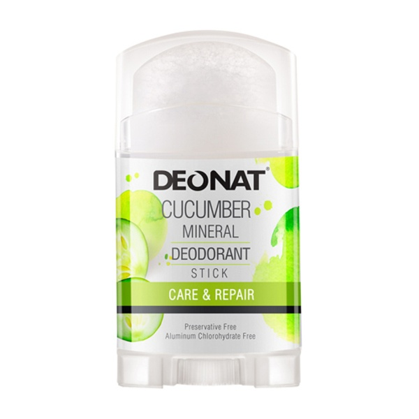 Deonat Deodorant Crystal With Cucumber Extract, Stick-out (twist-up),
