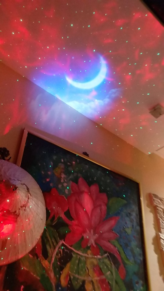 Projecteur océan étoilé photo review