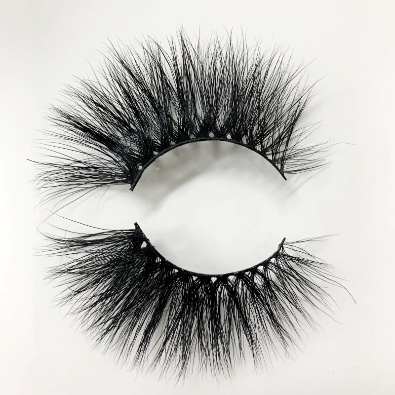 UPS Free Shipping 200pair Mink Eyelashes Crisscross Natural False Eyelashes Eyelash Extension Full Strip False Lashes Handmade