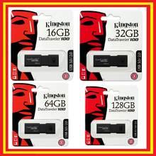 Kingston datavoyageur DT100 G3 16GB 32GB 64GB 128GB-clé USB originale 3.0 offres PC Windows