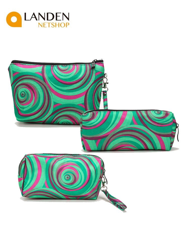 3 Unique Styles Made Handbag Cosmetic Organizer Makeup Bag Surface Travel Bags Multifunctional Fashion Cosmetic Bag