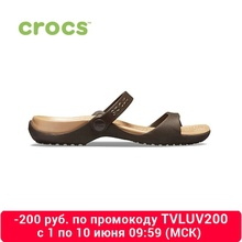 CROCS Cleo mujer para mujer, zapatos de verano para mujer, zapatos de playa, TmallFS Zapatos, zapatillas de goma