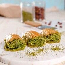 Из Турции известный турецкий десерт из баклавы с арахисовым маслом 950 гр.(33,5 унций) Мы отправляем с DHL Экспресс-доставкой по всему миру