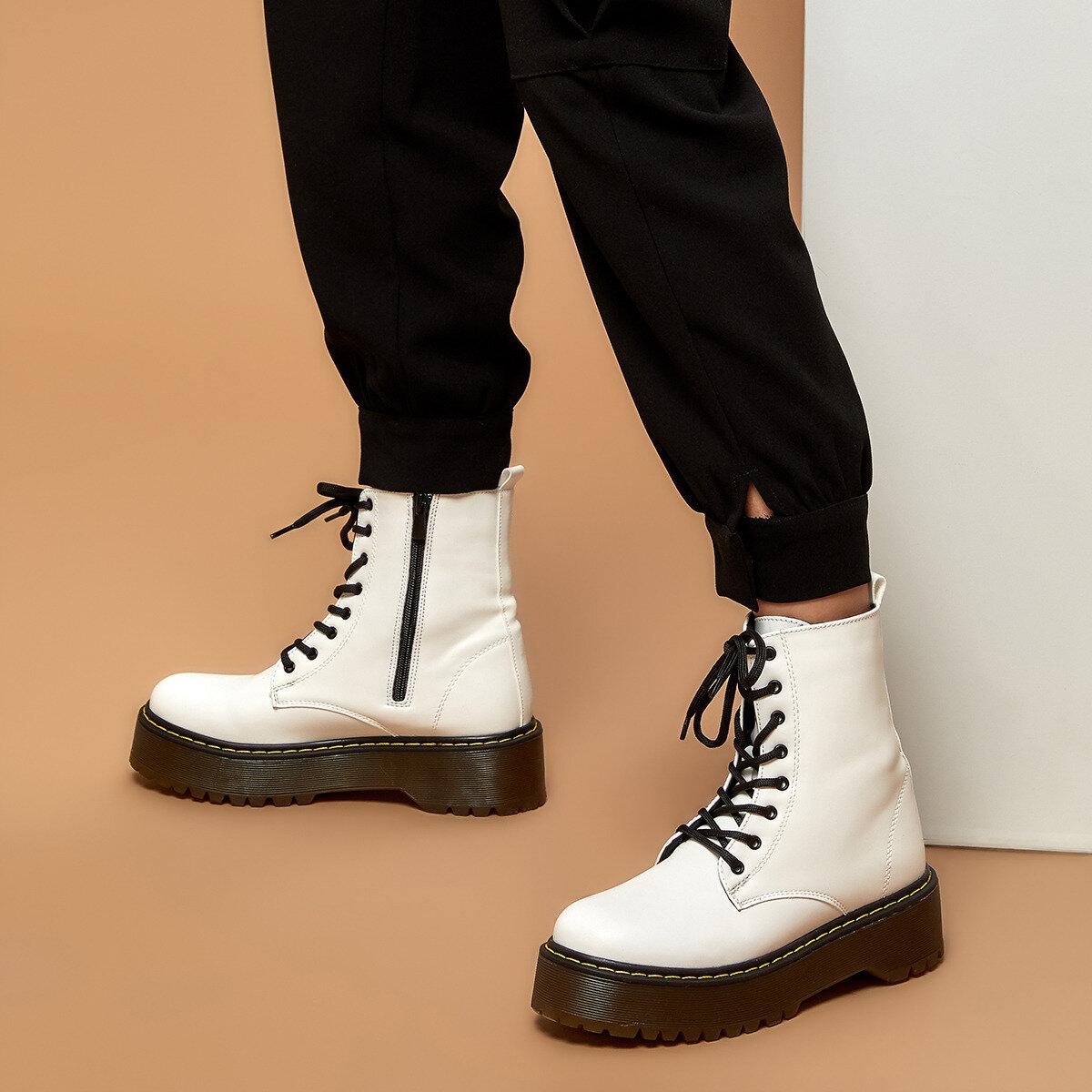 FLO 19K-453 White Women 'S Boots BUTIGO