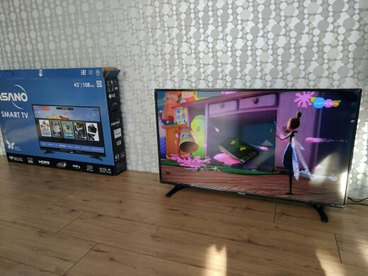 LED Television Asano 43LF7010T 4049InchTv DVB T2 DVB T DVB C Consumer Electronics Home Audio Video Equipments Smart TV|Smart TV|   - AliExpress