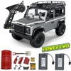 1:12 Scale MN99S RTR Version RC Car 2.4G 4WD RC Rock Crawler D90 Defender Pickup Remote Control Truck Toys