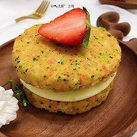 """#美食说出""""新年好""""#好吃不胖---低脂蔬菜鸡肉饼的做法图解19"""