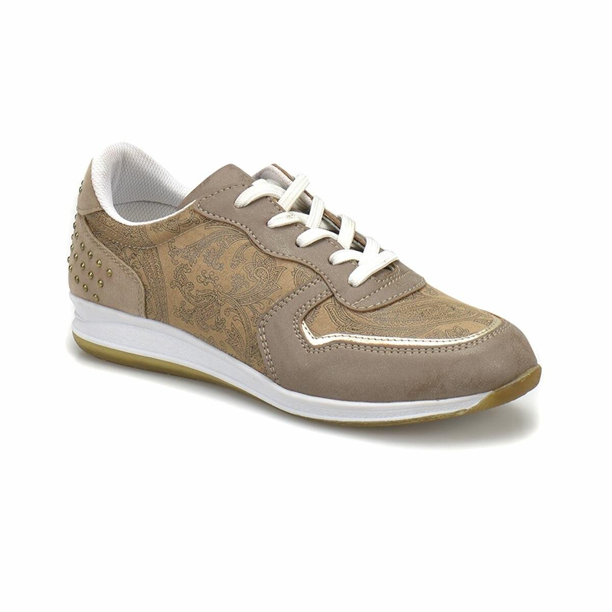 FLO CS18024 Brown Women 'S Sports Shoes Art Bella