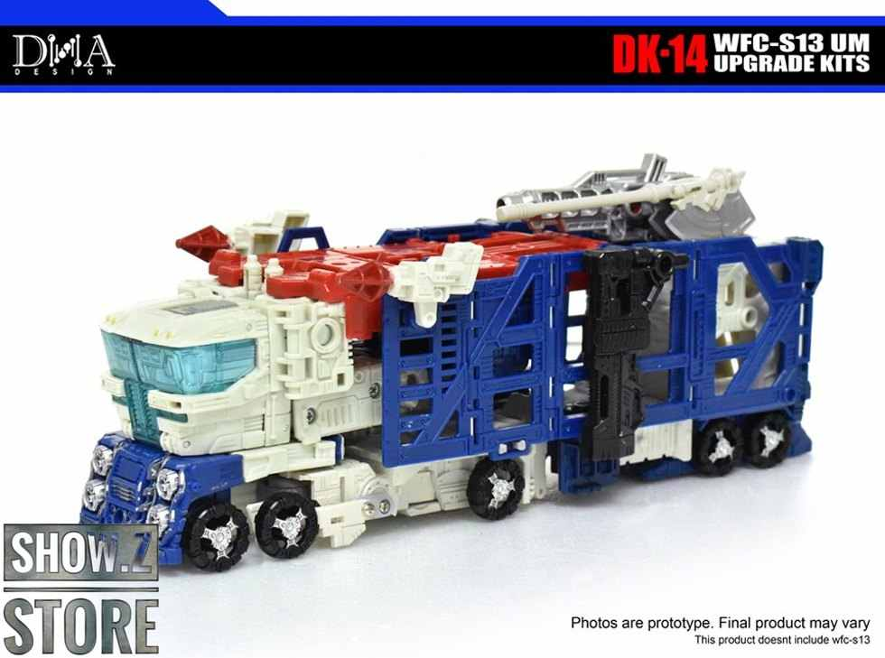 [Show. z store] design de dna DK-14 dk14, kit de atualização para WFC-S13 wfcs13 ultra magnus transformação figura de ação
