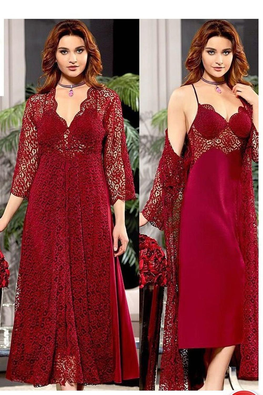 Jeremi Women Combed Cotton 6-piece Nightgown Pajamas Bra Covered Shorts Top Set Suit Sizes S M L XL 573