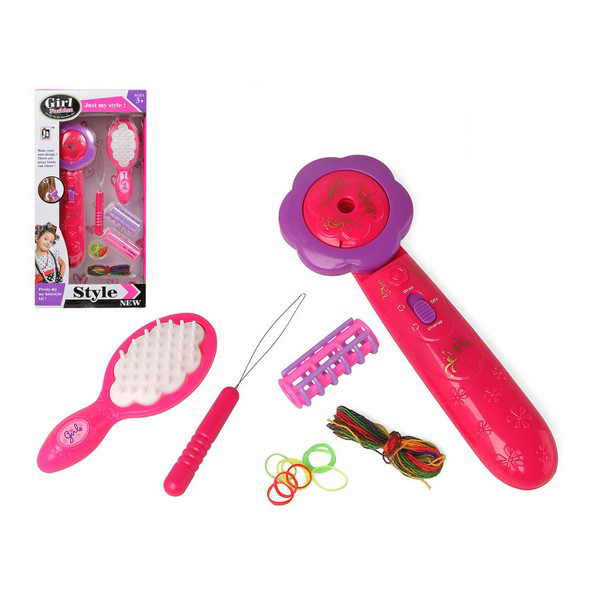 Child's Hairedressing Set Girl Style Pink 118278