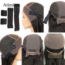 Hair Adjustable Elastic Band with Hooks for Wigs/Lace Closure/Lace Frontal Sewing Band Wig Accessories for Making Wig DIY()