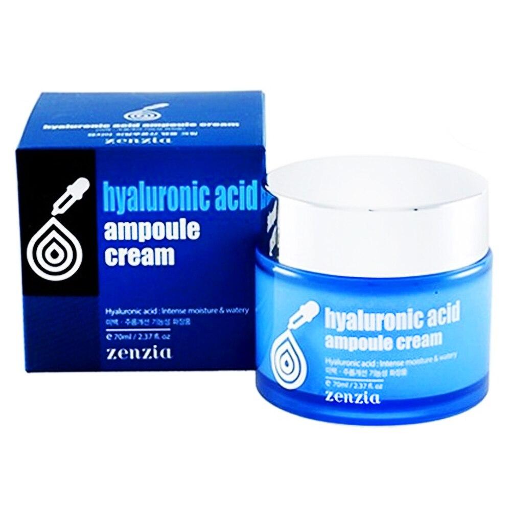 Крем для лица с гиалуроновой кислотой Zenzia Hyaluronic Acid Ampoule Cream 70 мл|Автозагары и бронзаторы для лица| | АлиЭкспресс