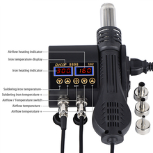 Stations Solder-Tools Cell-Phone Display Welding-Rework-Station Digital 8898 750W LCD